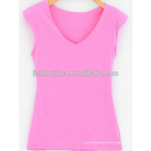 Nahtlose Damen Plain Tank Tops