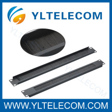 19 Inch Blank Panel Cable Manager With Brush
