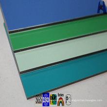 Panel compuesto de aluminio PVDF ACP color impreso