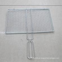 Malha de arame para churrasco para exportação