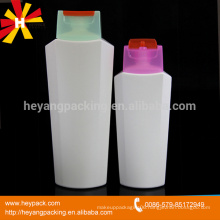 200ml 400ml flip top cap plastic bottles for shampoo