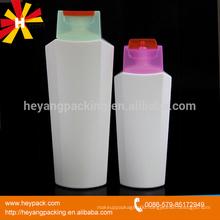 200ml 400ml flip top cap plastic bottles for shampoo