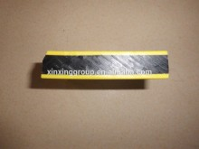 Textured high density polyethylene two colored plastic sheet