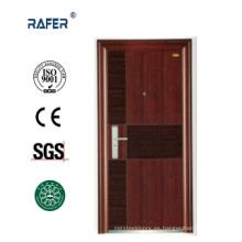 Nuevo diseño de dos colores de puerta de acero (RA-S019)