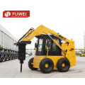 0.7 Ton 37kw 0.4m3 Skid Steer Loader with CE (JC45)