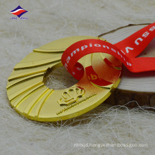 Wholesaler price nice design good quality hollow out die cast medals