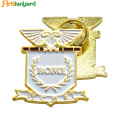 Metal Badge with Different Plating
