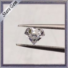 6.50mm Machine Cut 40% Heavy Weight CZ Stones con alta cantidad