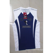 Polyester Mens Athletic Clothes With Full Computer Printing