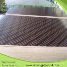 18mm Poplar Core or Finger Joint Core Film Faced Plywood