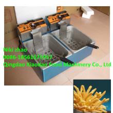 Máquina elétrica de fritadeira de batatas fritas / máquina de fritadeira
