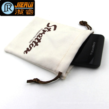 Wholesale Small Size Velvet Cloth Bag for Packing Phone