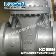 Engranaje que funciona Válvulas de compuerta de acero fundido