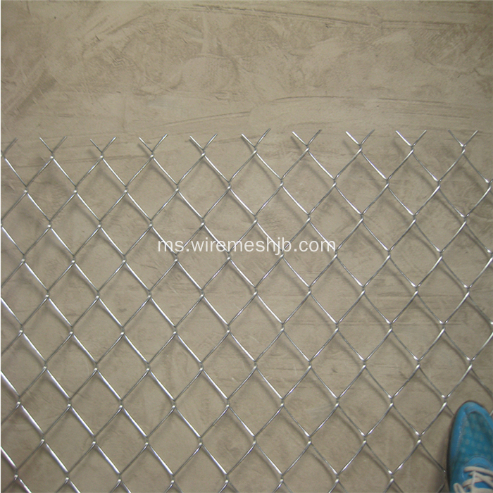 1 '' Mesh Hot Dipped Galvanized Link Pagar Rantaian