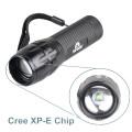 Q5 LED Taschenlampe Licht Fokus Zoom Lampe Mini 300 Lumen Taschenlampe mit AAA Akku