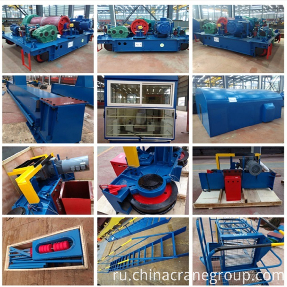 General Purpose Double Girder Gantry Crane PARTS