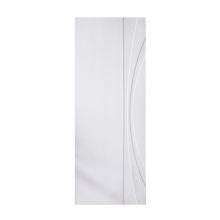 modern white prime wood door panel mdf door skin sheet customized doors GO-B5-EH1