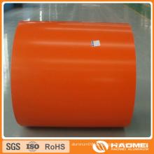 Farbbeschichtete Aluminiumplatte