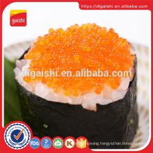 Gold supplier Japan green sushi dried frozen tobiko fish