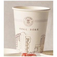 Tazas de papel ecológicas Tazas de papel publicitarias desechables