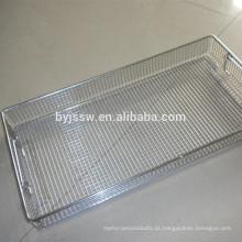Cesta de desinfecção de alta qualidade / Cesta de metal / Cesta de arame de aço inoxidável
