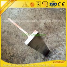 Extrusão de alumínio extrudado Customzied T para perfil de alumínio T