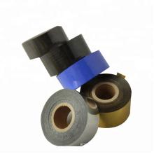 ABS plastic paper printing white black FC3 SCF900 25mm*100m date coding ribbon foil