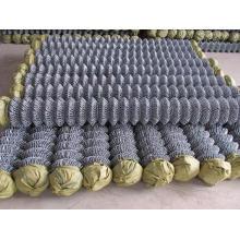 (Fábrica) Alambre de acero electro galvanizado para la cerca de la conexión de cadena