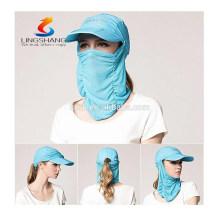 UV-Sonnenschutz UPF 50+ Angeln Wandern Boating Golfen Nacken Klappe Schatten Hüte Caps Gesichtsmaske