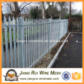 2016 Easily Assembled customized stainless galvanized steel fence palisade fence