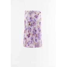 Плетеная плиссированная юбка с принтом на продажу