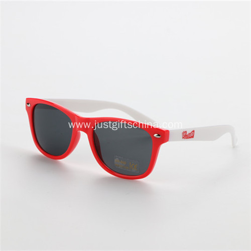 Promotional Kids Plastic Printed Sunglasses