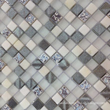 Crystal Glass Mosaics, Anti-dust, Washable, Acid-/Alkali-resistant and Durable