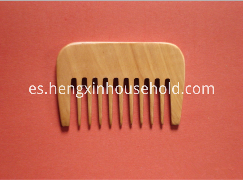 hair comb wide tooth pocket