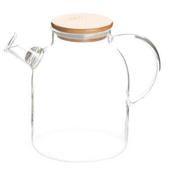 Glass Pitcher Water Carafe Beverage Pitcher