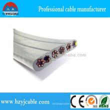 4-контактный 5-контактный 6-контактный 12-контактный плоский кабель Лифт Плоский кабель