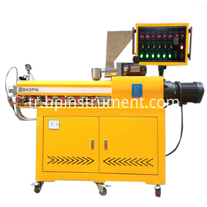 Equipment Control Plastic Twin Screw Extruder