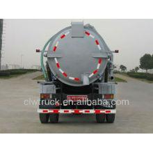 Горячая продажа всасывающего устройства для сточных вод Foton 4 * 2, всасывающего вакуумного насоса 8000litres