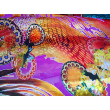Polyester Printing Fabric for Dress (XSFP-001)