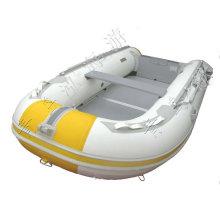 Aiuminum piso pvc inflável barco iate de 3,6 m