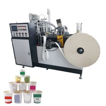 Machine de tasse de papier de thé