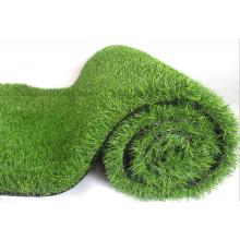 Tapis artificiel d'herbe de gazon artificiel de jardin de football ignifuge fait sur commande de PE