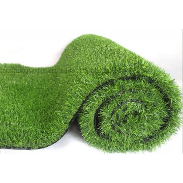 Kundenspezifischer PET flammhemmender Landschaftsgestaltung Fußball-Garten-künstlicher Rasen-Gras-Teppich