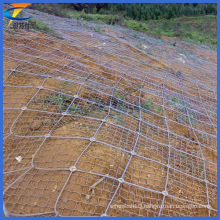 Sns Slope Stabilization and Protection Mesh System-Cable Net Drape
