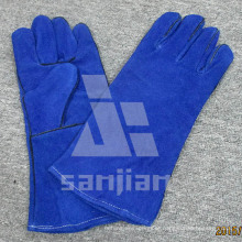 Full Palm Split Leather Ab/Bc Grade TIG Welding Safety Glove