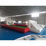 Outdoor PVC inflatable water soccer field inflatable water football field inflatable sport game