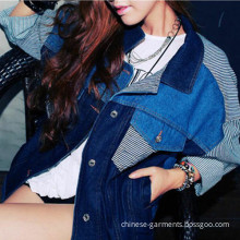 Wholesale Fasion Denim Outerwear Jeans Jackets for Women