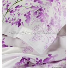 El buen quanty y el precio competitivo imprimieron la tela de algodón 100% para la ropa de cama