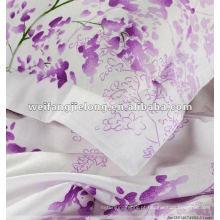 Bom quanlty e preço competitivo impresso 100% tecido de algodão para roupa de cama