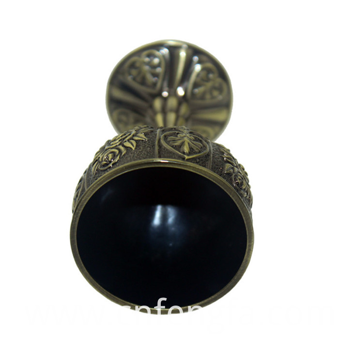 Hot sale zinc alloy kiddush cup